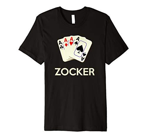 Kartenspiel Alle 4 Asse tshirt Karten Shirts -
