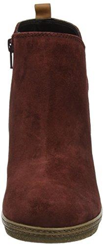 Gabor Comfort Sport, Bottes Classiques Femme Rouge (Wine A.C/Micro)