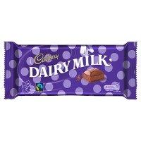 Cadbury Dairy Milk Block Chocolate Bar - 18 x 120 g