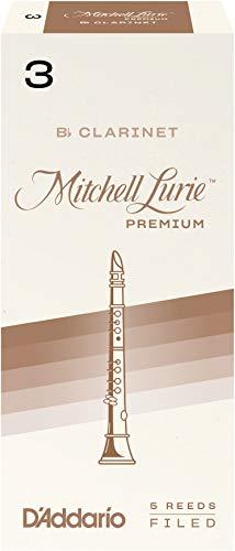 Preisvergleich Produktbild Mitchell Lurie Premium Blätter für Bb-Klarinette Stärke 3.0 (5 Stück)