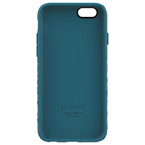 Speck 73804-5376 Inked CandyShell harte Schutzhülle für Apple iPhone 6/6S Plus 13,97 cm 5,5 Zoll) pineapple pac/knight lila atlantic blau