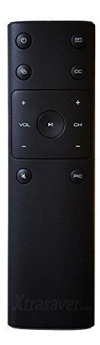 xtrasaver Ersatz-Fernbedienung für Vizio xrt132Für HDTV 4K LED TVs Passform für p50-c1, p55-c1, p65-c1, p75-c1, m50-d1, m55-d0, m60-c3 (P55 Vizio)