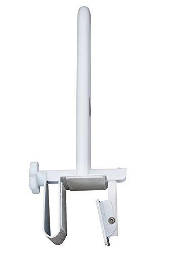 Badewannen-Einstiegshilfe - Griffstangen, Rostfreies hochwertiges Stahlgestänge, Stabil, Robust, Einfache Montage