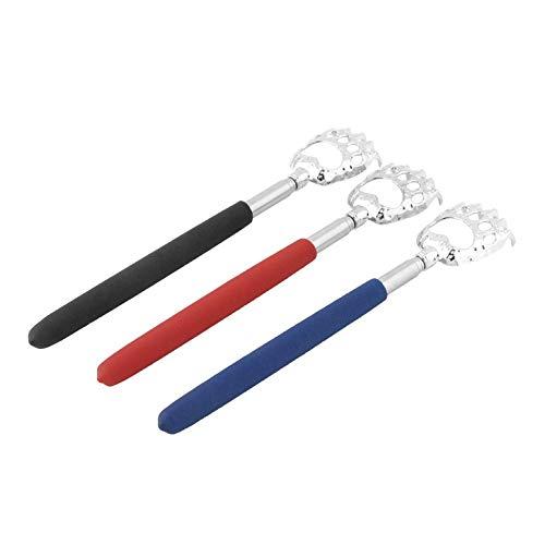 Heißer Verkauf 10 stücke Bear Claw gesunde Back Scratcher zink-legierung Tragbare Erweiterbar Handliche Tasche Stift Clip Back Scratcher (Erweiterbar Back Scratcher)