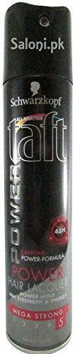 Schwarzkopf Taft All Weather Power Hair Lacquer Mega Strong, 250ml