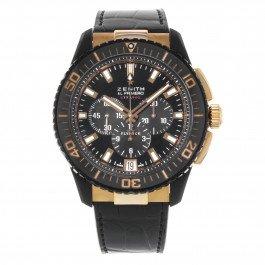 Zenith El Primero Stratos Flyback Alchron Rose Gold Watch 85.2060.405/23.c714