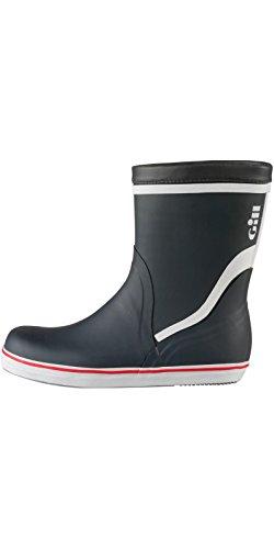 Gill Unisex Segelstiefel Short Cruising Boot 901, Farbe:Carbon;Größe:45