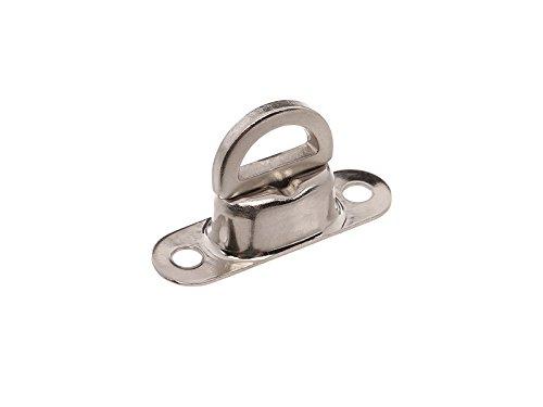 Fez émerillon (Fermeture Tournante) galvanisé Plaque de base 1 mm de haut Grand type, 41 mm de long pour capote – pour Duo 4/1