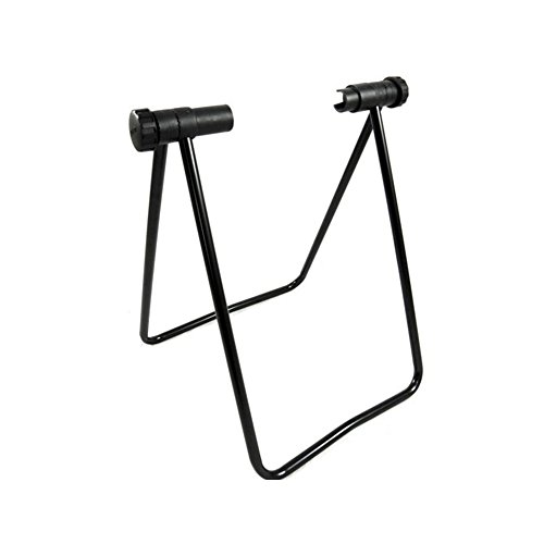 ljym88 U-shaped Folding Bicycle Holder Mountain parking bike Maintenance Rack Accessories Support Car Road