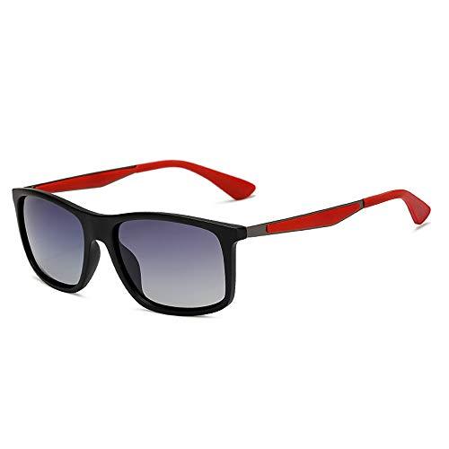 Easy Go Shopping TR Glasses Classic Rice Nail Hochwertige Sonnenbrille Polarized Men Sonnenbrille Sonnenbrillen und Flacher Spiegel (Color : 02Gray, Size : Kostenlos)