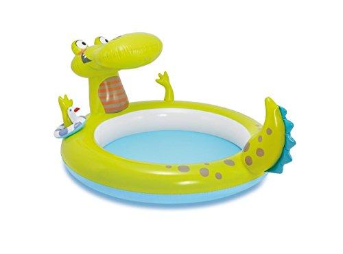 Babypool / Baby Pool / ca. 198 x 160 x 91 cm - Krokodil - Babypool Baby Pool Planschbecken Kinderpool Pool Kinderplanschbecken Schwimmbecken Baby-Pool Planschbecken