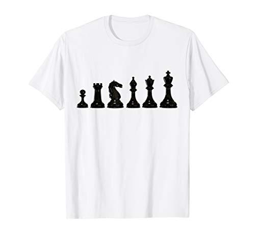 King Kinder Kostüm - Schachfiguren King Pferd T-Shirt Schach Karneval Kostüm