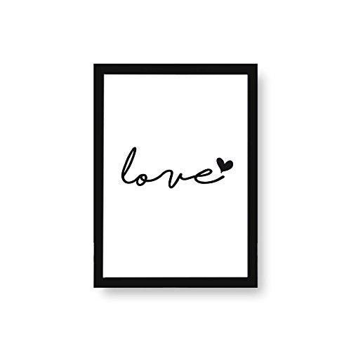 Kenay Home Lámina Love A3