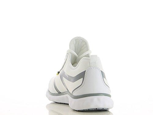 Oxypas Fashion, Luca, antistatischer (ESD) Arbeitsschuh für Herren Light Grey