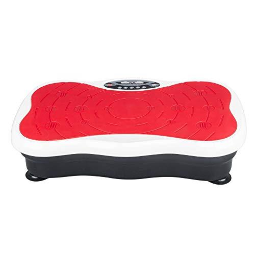 3D Vibrationsplatte Ganzkörper Trainingsgerät Rutschfest Körper Vibrationstrainer Fitness Vibrationsgerät 200W Vitaplate Fitnessgerät 20HZ Vibro Shaper inkl. Fernbedienung