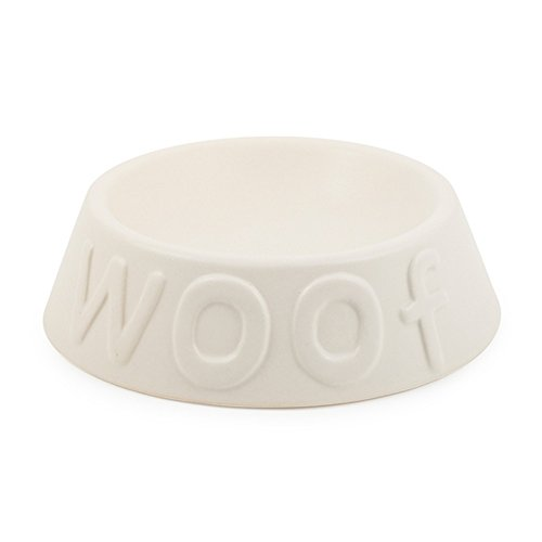 ancol-pet-products-ceramic-minimalistic-woof-dog-bowl-large-pearl-white
