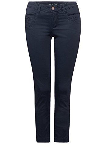 Street One -  Pantaloni  - Basic - Donna night blue (blau)