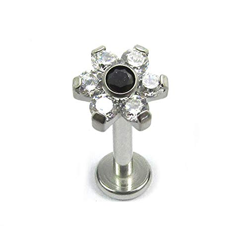 Other Fine Pins & Brooches Confident Broche Argent Massif Pierre Noire Easy To Lubricate