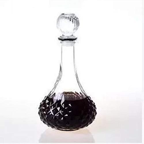 (VATHJ Wein Dekanter Weinflasche Diamant Rotwein Flasche Ball nüchtern Flasche Bleifrei hausgemachte Weinflasche)