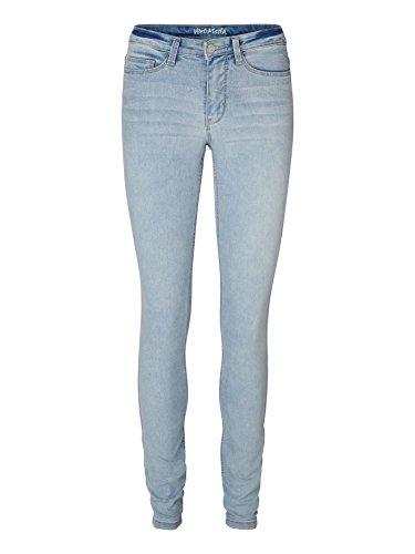 Vero Moda Wonder New - Jeans - Jegging - Femme Bleu (Light Blue Denim)