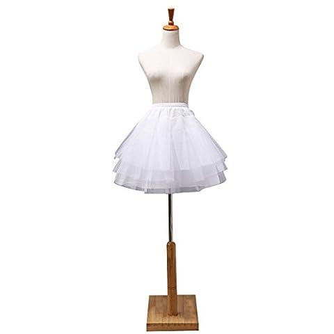iShine Jupons crinolina bal de promo hoopless abito tutu rockabilly retro underskirt '50 battente vintage petticoat Jupons