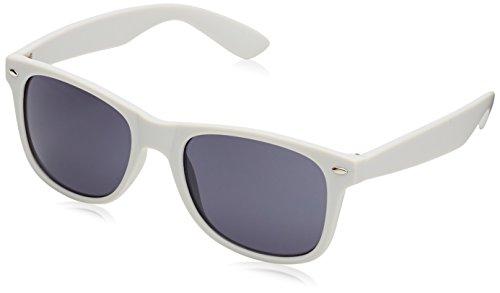 MSTRDS Likoma Mirror, Occhiali da Sole Unisex-Adulto, Weiß (White/Red 4445), Taglia unica
