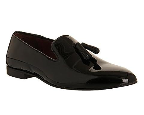 Poste Aristocrat Loafer - Noir - Black Patent Leather,