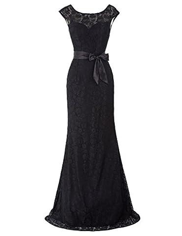 Damen Homecoming kleid Abendkleid Sommerkleid lang 38 KK203-1