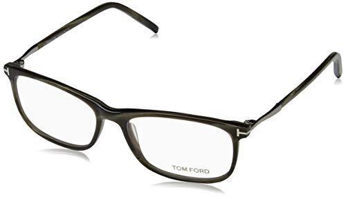 Tom Ford Herren Ft5398 Brillengestelle, Grün (CORNO VERDE), 55