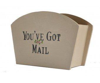 – You've Got Mail boîte de rangement style shabby chic