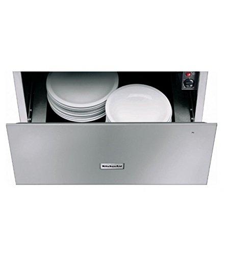 KitchenAid KWXXX 29600 - warming drawers (Stainless steel, 50/60 Hz, Push, Stainless steel, 30-70 °C)