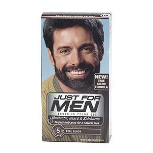 Tinte barba, bigote patillas Just For Men Real Black