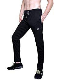 8219991e0adbc0 ROLLTOP® Men's Cotton Rich Blend Track Pants, Joggers, Sports Gym Lower  Pajama with