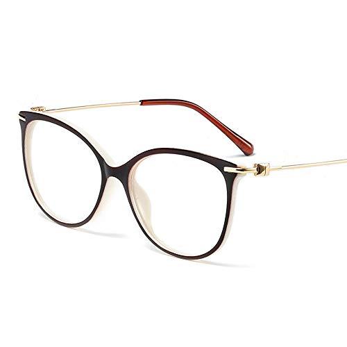 WULE-RYP Polarisierte Sonnenbrille mit UV-Schutz Ultraleichte Metalldekorative Retro-Glasrahmen für Männer und Frauen。 Superleichtes Rahmen-Fischen, das Golf fährt (Farbe : Black/White)