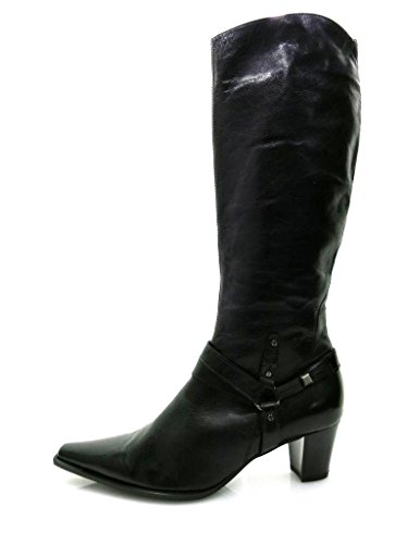 Lamica Damenstiefel Stiefel Damenschuhe Schuhe IT Schwarz