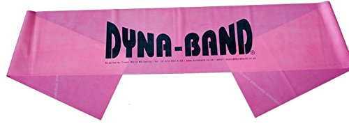 Dyna Band DynaBand Unisex, Fitnessband Pink