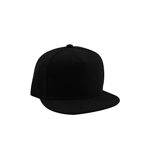 sdssup Lässige Mode Erwachsenen Hut einfarbig einfarbig Baumwolle schwarz 3 Winton-fan