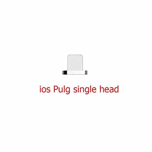 Magnetisches USB Kabel (10ft/6ft/3.3ft) YANSHG® Nylon geflochtenes USB Kabel für iPhone 5, 5c, 5s, SE, 6, 6 Plus, 6s, 6s Plus, 7, 7 Plus,8,8 Plus,X (Usb 6ft Geflochten)
