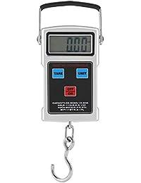 Báscula Electrónica Digital Balanza Portátil de Pesaje de Mano Resistente Alta Precisión para Maletas ...