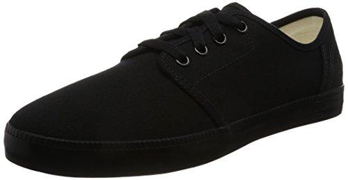 Timberland Herren Newport Bay Canvas P Sneaker Schwarz - Schwarz (Black)