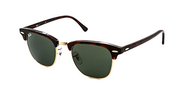 6a78ea095b38c RB3016 W0366 49-21mm Clubmaster Sunglasses  Amazon.co.uk  Kitchen   Home