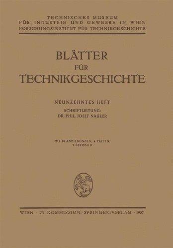 Eisen-blatt (Blätter für Technikgeschichte)