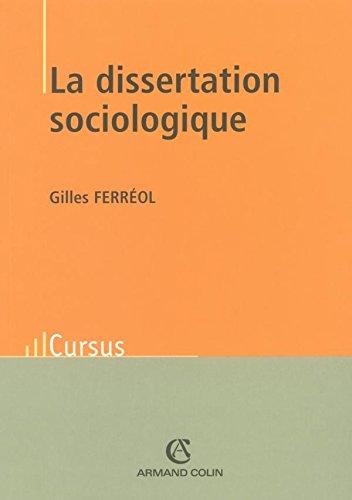La dissertation sociologique