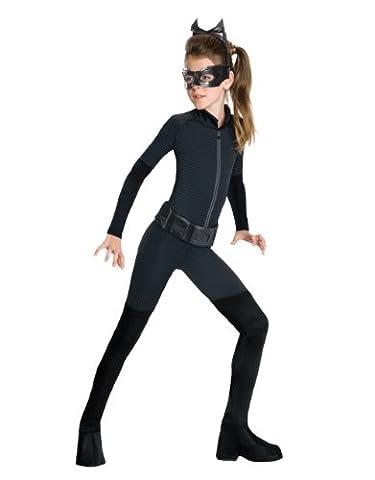 Dunkler Ritter Rises Kostüm, Kinder Catwoman Kostüm Style 1, groß, Ab 8 jahren - 10, GRÖßE 4' 8