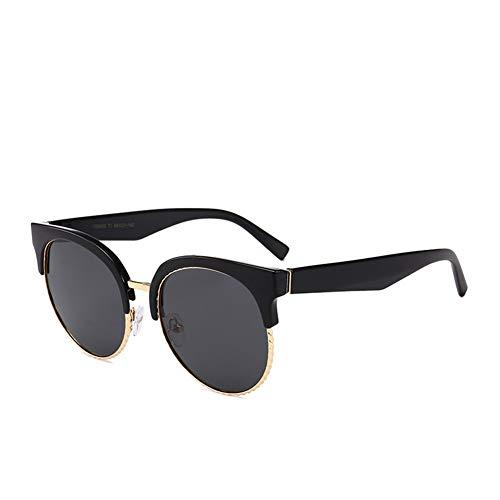 Sonnenbrillen Anti-UV-Runde Halbmetallfarbe Reisen hochwertige Materialien, Reisen aus dem Auto Fahren Verschleiß erforderlich