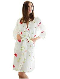 Amazon.co.uk  Cotton Real - Dressing Gowns   Nightwear  Clothing f9021dfc2