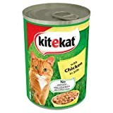 Kit-E-Kat 12 X Chicken In Jelly 65P Cat (400g)