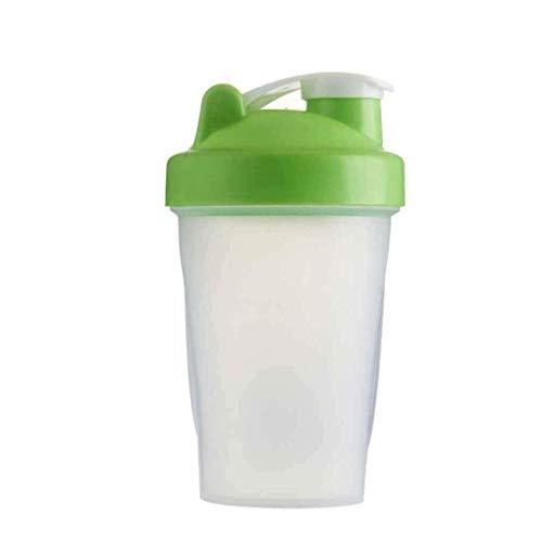 Ogquaton Premium-Qualität 400 ml Protein Shaker Mixer Drink Schneebesen Ball tragbare auslaufsichere Sport Camping Shaker Wasserflaschen