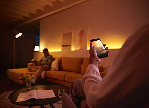 31L5n1LCPYL [Bon Plan Netatmo] Philips Hue Ruban Lumineux Lightstrip White And Color Ambiance de 2Mètres, Bande Flexible Lumineuse Contrôlée Par Smartphone - Lampe Led à Variation de Couleurs - Fonctionne avec Alexa