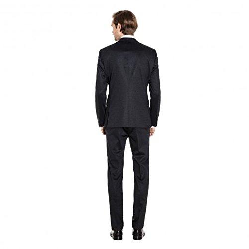 Michaelax-Fashion-Trade -  Abito  - Basic - Maniche lunghe  - Uomo Schwarz (4000)
